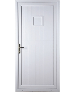 Torquay Solid uPVC High Security Door