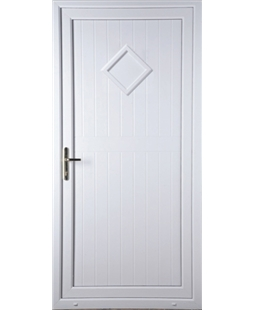 Torquay Diamond Solid uPVC Door