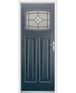 Ultimate Newark Rockdoor in Anthracite Grey with Bright Star Glazing