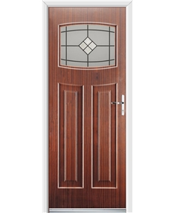 Ultimate Newark Rockdoor in Mahogany with Bright Star Glazing