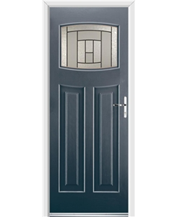 Ultimate Newark Rockdoor in Anthracite Grey with Citadel Glazing
