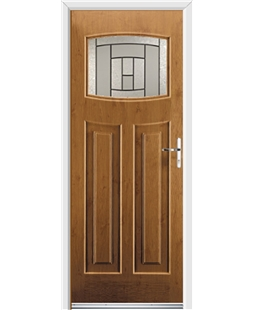 Ultimate Newark Rockdoor in Irish Oak with Citadel Glazing
