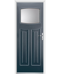 Ultimate Newark Rockdoor in Anthracite Grey with Glazing