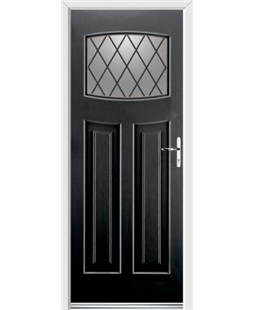 Ultimate Newark Rockdoor in Onyx with Diamond Lead