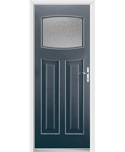 Ultimate Newark Rockdoor in Anthracite Grey with Gluechip Glazing