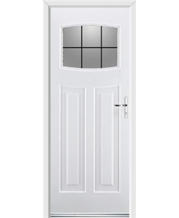 Ultimate Newark Rockdoor in Blue White with Square Lead