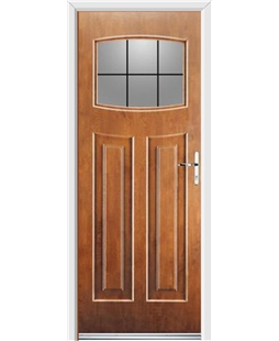 Ultimate Newark Rockdoor in Light Oak with Square Lead
