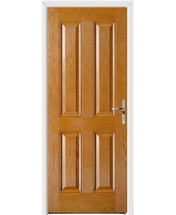 Richmond FD30s Fire Door in Oak