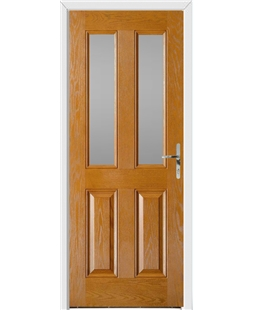 Windsor FD30s Fire Door in Oak