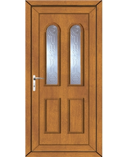 Northampton New Faylin uPVC Door In Oak