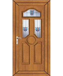 Ventor Renaissance uPVC Door In Oak