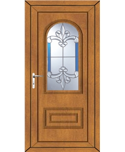 Epsom Royal Master uPVC Door In Oak