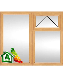 The Cambridge uPVC Double / Triple Glazing Windows in Irish Oak