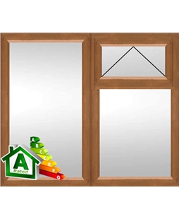 The Cambridge uPVC Double / Triple Glazing Windows in  Golden Oak