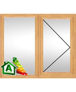 The Coventry uPVC Double / Triple Glazing Windows in Irish Oak
