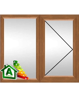 The Coventry uPVC Double / Triple Glazing Windows in  Golden Oak
