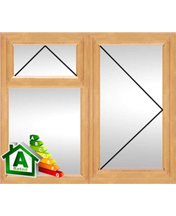 The Derby uPVC Double / Triple Glazing Windows in Irish Oak
