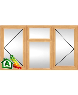 The Portsmouth uPVC Double / Triple Glazing Windows in Irish Oak