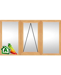 The Northampton uPVC Double / Triple Glazing Windows in Irish Oak