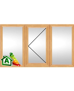 The Nottingham uPVC Double / Triple Glazing Windows in Irish Oak