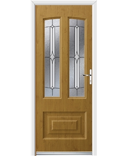 Ultimate Illinois Rockdoor in Irish Oak with Pinnacle
