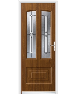 Ultimate Illinois Rockdoor in Light Oak with Pinnacle