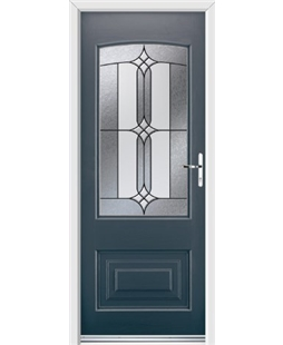 Ultimate Portland Rockdoor in Anthracite Grey with Apostle Glazing