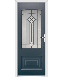 Ultimate Portland Rockdoor in Anthracite Grey with Beacon