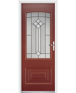 Ultimate Portland Rockdoor in Ruby Red with Beacon