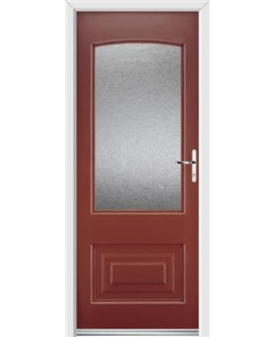 Ultimate Portland Rockdoor in Ruby Red with Gluechip