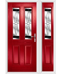 The Cardiff Composite Door with Side Panel
