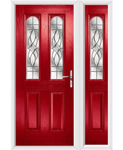 Composite Door with Single Side Panel
