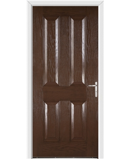 Richmond FD30s Fire Door in Rosewood
