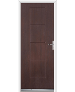 Ultimate Dakota Rockdoor in Rosewood