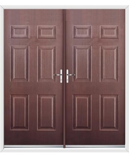 Colonial French Rockdoor in Rosewood