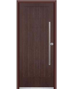 Ultimate Indiana Rockdoor in Rosewood with Bar Handle