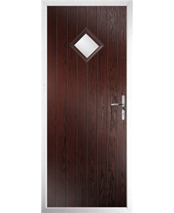 The Reading Composite Door in Rosewood with Glazing