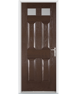 Stratford FD30s Fire Door in Rosewood