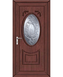 Middlesbrough New Mercury uPVC High Security Door In Rosewood