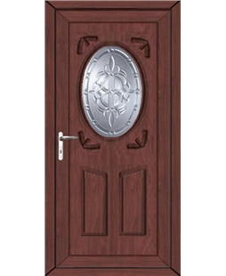 Stoke New Celtic uPVC High Security Door In Rosewood
