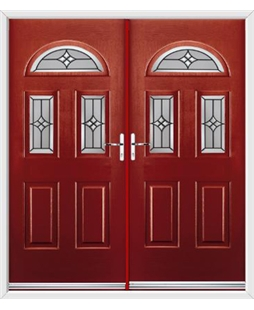 Tennessee French Rockdoor in Ruby Red with Summit