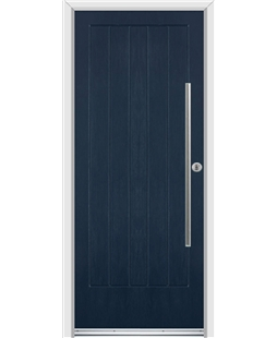 Ultimate Indiana Rockdoor in Sapphire Blue with Bar Handle