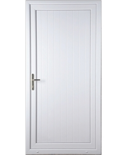 Shiplap Solid uPVC High Security Door