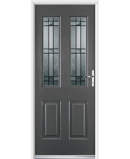 Ultimate Jacobean Rockdoor in Slate Grey with Apollo