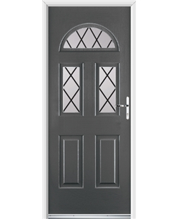 Ultimate Tennessee Rockdoor in Slate Grey with Diamond Lead