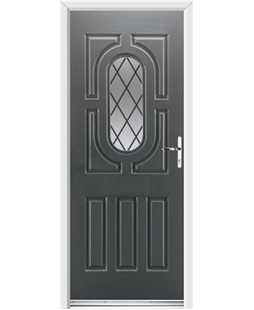 Ultimate Arcacia Rockdoor in Slate Grey with Diamond Lead