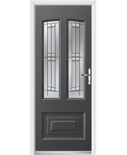 Ultimate Illinois Rockdoor in Slate Grey with Empire