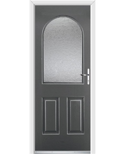 Ultimate Kentucky Rockdoor in Slate Grey with Gluechip Glazing