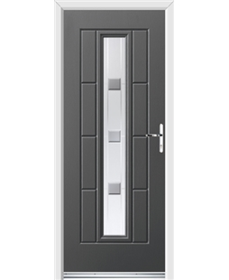 Ultimate Vermont Rockdoor in Slate Grey with Grey Shades