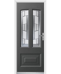 Ultimate Illinois Rockdoor in Slate Grey with Inspire